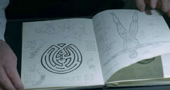 Maze in journal