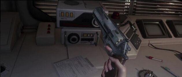Alien Isolation pistol