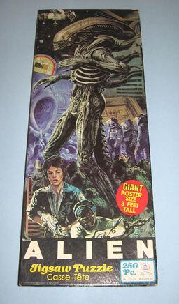 Alien alien jigsaw