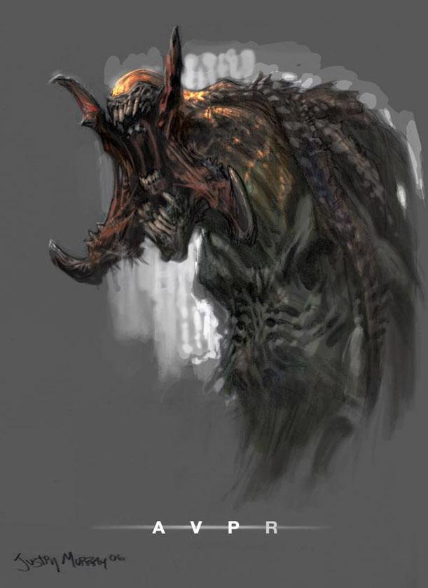 Artwork alien franchise alien predator