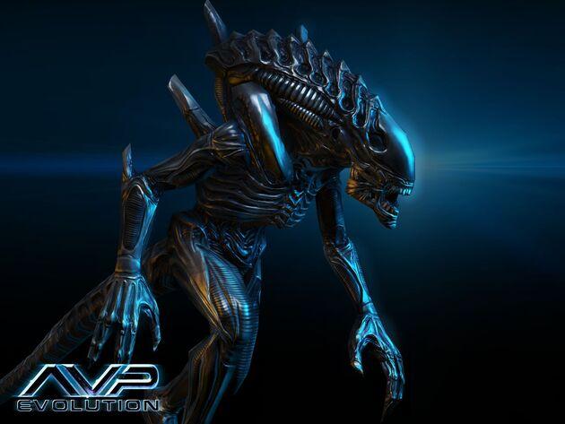 Alienwarriorcarved