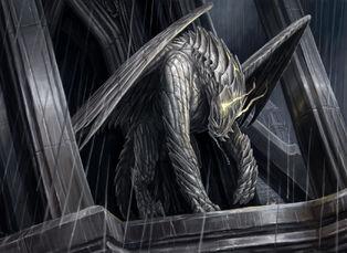 Gargoyle sentinel by artpox-d2zgax2