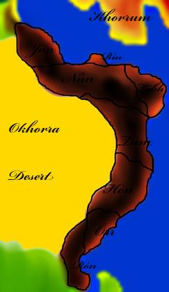 Dún map