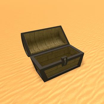 Opened Treasure Chest