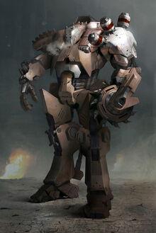 Thon Guard Battlesuit