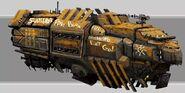 15.Squrik Mining Ship