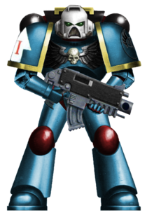 Turquoise Protector Astartes 2