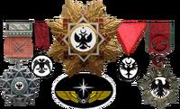 NI Medal Rack