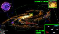 BOARDICEA sector map