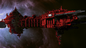 Red Shroud Relic Battle Barge