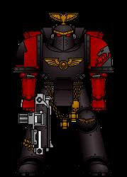 Knights of Apocalypse Redscale Legionnaire
