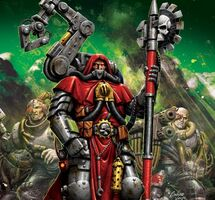 Warhammer 40,000 Fanon Wiki: How to make a Fanon Adeptus Mechanicus Order