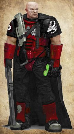 Blood Scorpions Scout Marine