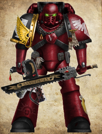 Crimson Sentinel Assault Marine