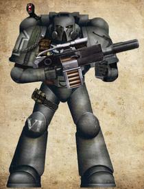 Obsidian Blades Tactical Marine