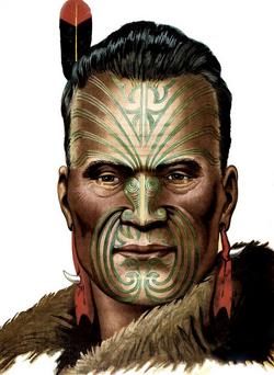 Rehuan Tattoed Face