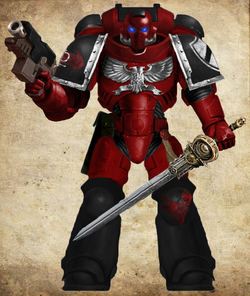 Alpha Red Guardians Intercessor