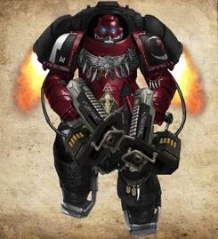 Crimson Prowlers Void Claw Warrior