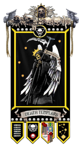 Death Templars Chapter Banner 1
