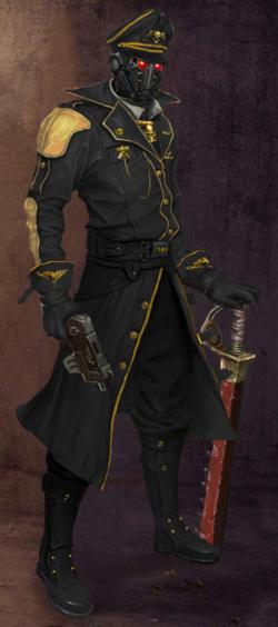 Morana Black Guard Commissar