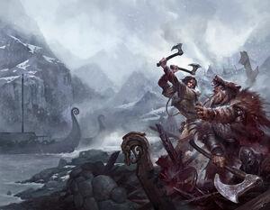Kaeriolian Female vs Warrior