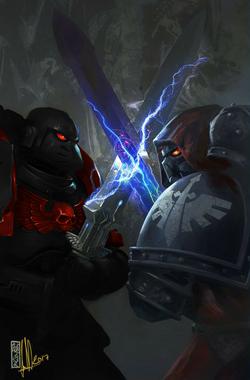 Black Knight vs Fallen