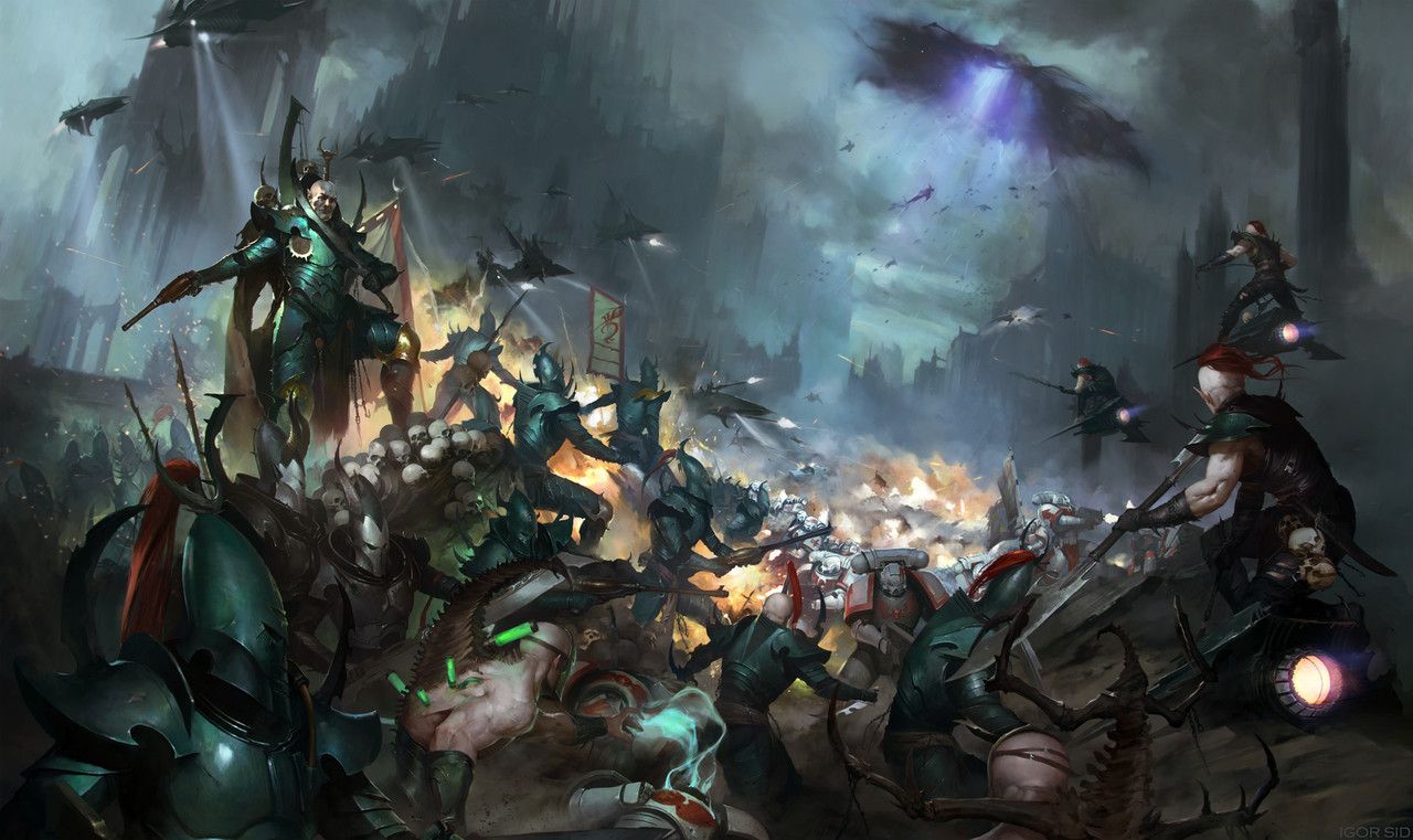 Image Drukhari Vs White Scarjpg Warhammer 40000 Homebrew Wiki