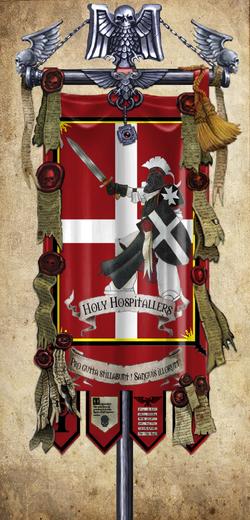 Holy Hospitallers Chapter Banner