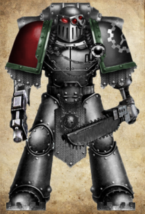 Iron Warden Wearing Mk III