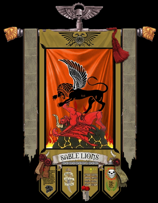 Sable Lions Chapter Banner