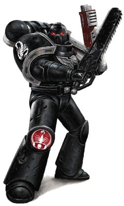 Blood Scorpions Deathwatch Mk VII