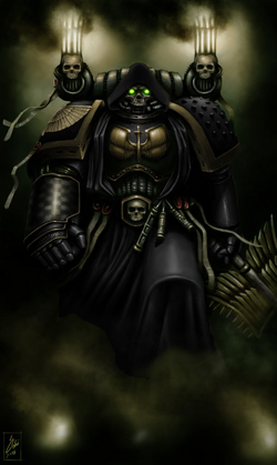 Sable Knights Tormentor-Chaplain