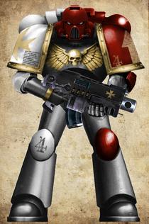 Iron Templars Tact Marine