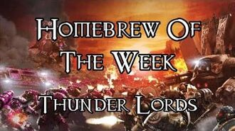 Homebrew Of The Week - Episode 118 - Thunder Lords