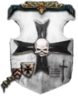 Black Templars Livery Shield