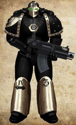Ebon Knights Tac Marine