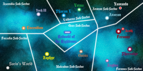 Azuran Sector Map 1