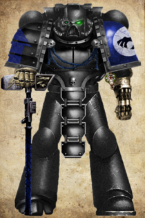 Mk VII OT Marine With Thunder Hammer