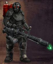 Black Guard Trooper Hvy Weapon