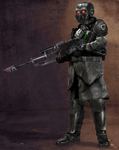 Morana Black Guard Lasrifle