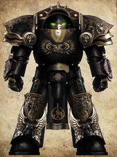 Blades Dorn Chapter Master