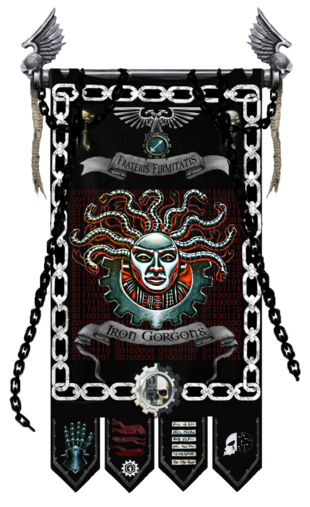 Iron Gorgons Chapter Banner