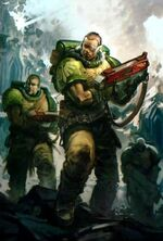 Warhammer 40,000 Homebrew Wiki:How to Create a Fanon Space Marine Chapter