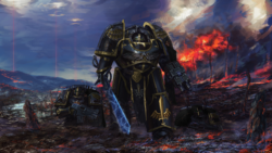 Sable Knights Knight-Cmdr