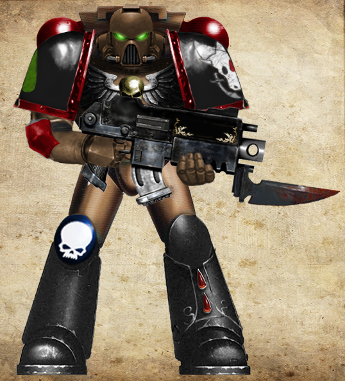 Loin Cloth Terminator 3 40K Chaos Space Marines Sorcerer Lord Tabard