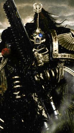 A Sable Knight Veteran Astartes