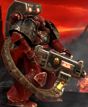 Bloodmoon Hunters Concept wh40k DOW2R devestator heavy bolter