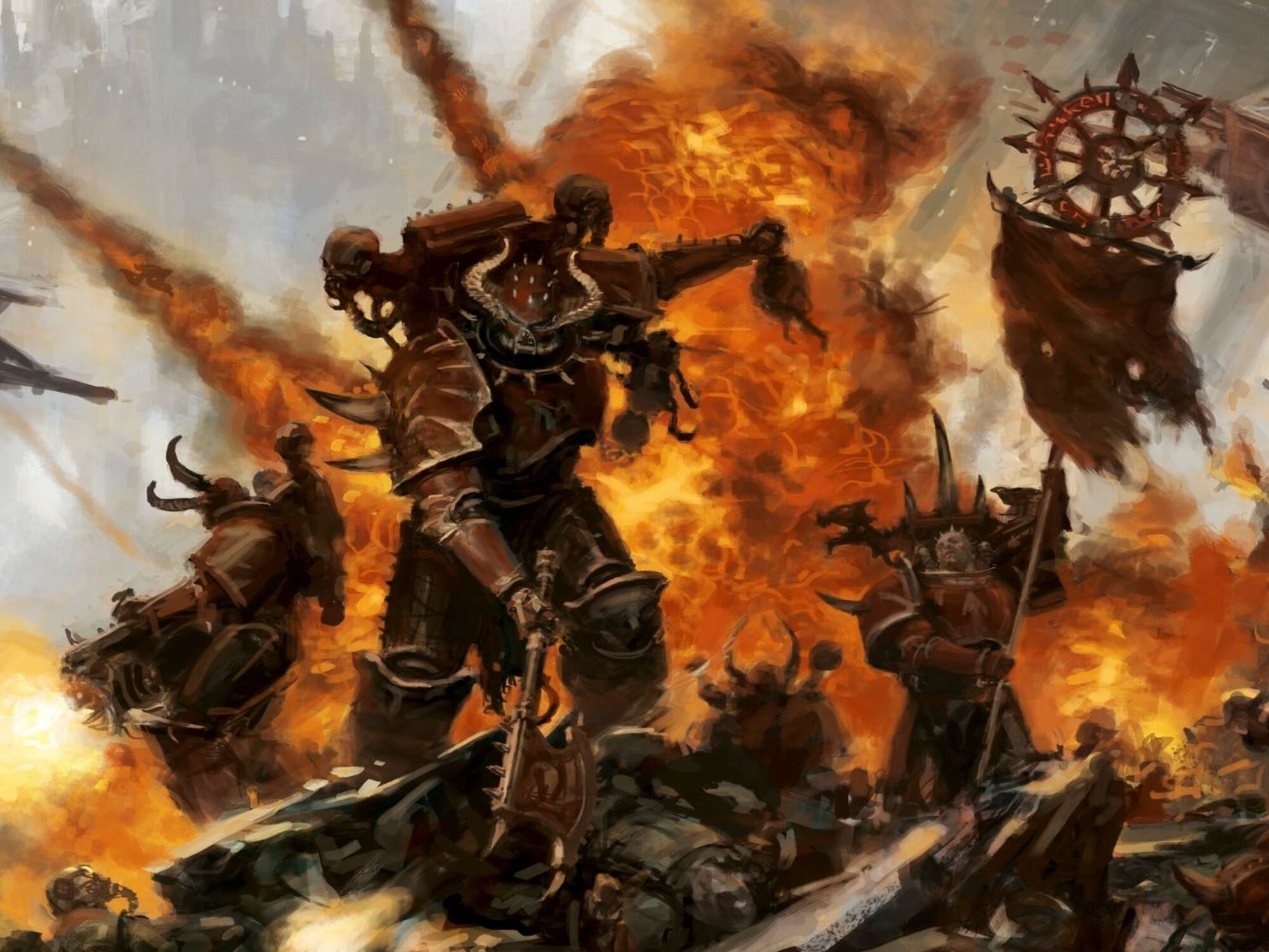 Warhammer 40,000 Homebrew Wiki:How to Create a Fanon Chaos