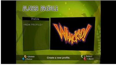 Whacked! Gameshow Mode New profile