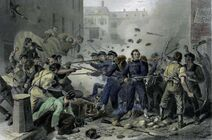 Goodyear Rail Company Riots